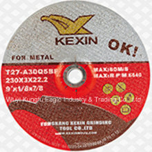 "Resin Grinding Wheel/Grinding Disc for Metal 9"" 230X3X22.2mm"