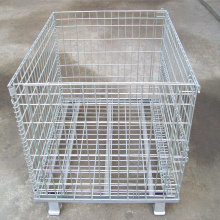 Warehouse Pallet Mesh Cage With Top Cover