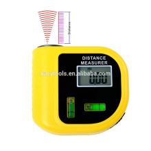 Télémètre laser portable Calculateur de distance à ultrasons Détecteur de distance au laser Distance Finder