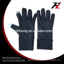 Touch screen Daily life outdoor sport professional design elastic cloth gloves