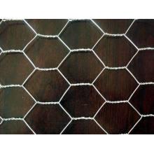 Malha de arame hexagonal de 30 cm de largura a 2,0 m de largura
