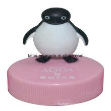 High-Quality Rubber Inflatable Plastic Cartoon Mini PVC Vinyl Penguin Toy