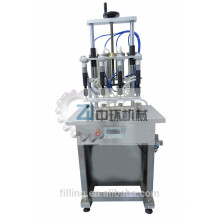 Máquina de llenado de aceite esencial semiautomática de 4 boquillas