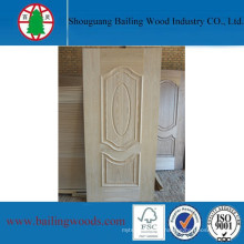 Natural Veneer MDF Doorskin with Good Quality