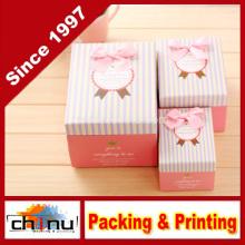 Caja de regalo de papel / caja de embalaje de papel (110246)