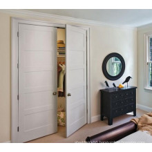 White Painted Double Door Stile and Rail Door