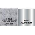 Глянцевая блестящая поверхность Алюминиевая шахматная пластина с финишной отделкой
