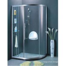 AS / NZS2208 Душевые стеклянные душевые экраны для ванной комнаты (H013B)
