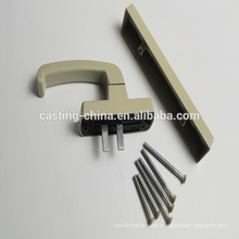 Tiradores de puerta de acero inoxidable de fundición de inversión de alta calidad