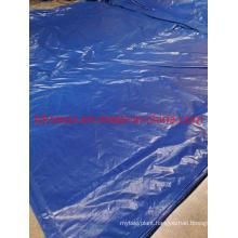 Double Dark Blue PE Tarpaulin Sheet