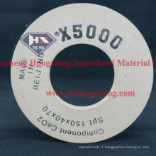 Roue de polissage X5000 X3000 Diamond Cup pour verre