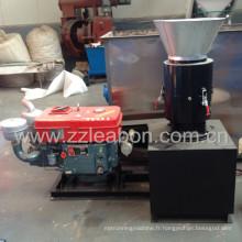 Moteur diesel Granulateur de sciure de bois à biomasse