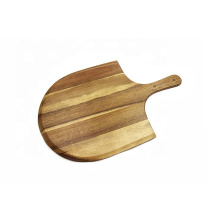 "Heritage Acacia Wood Pizza Peel, ideal para pizzas caseras, quesos y charcutería - 22 ""x 14"""