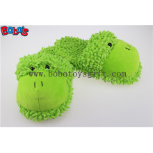 Non-Slip Women Shoe Plush Stuffed Soft Frog Animal Home Slippers