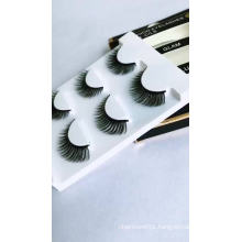 Wholesale 3D Fake eyelashes  False Eyelashes 25mm eyelashes private label