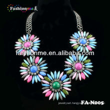 Hot statement necklace shourouk style necklace