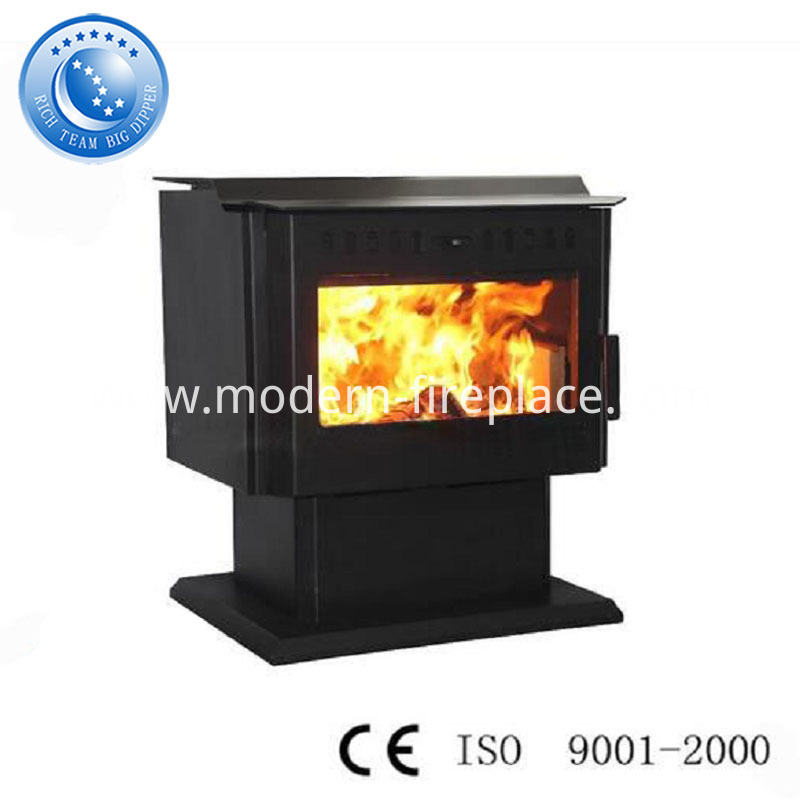 Steel Plate Fire Stove China Freestanding