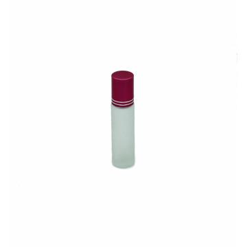 kundenspezifische leere bereifte Glasrolleflasche des ätherischen Öls 10ml