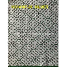 2015 Tecido africano do laço do cordão o mais vendido, laço do Cupion