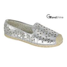Women′s Espadrille Flat Casual Shoes