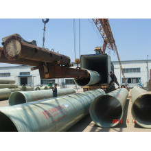 Underground GRP Pipe Diameter 25mm to 4000mm