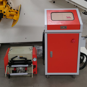 Coil Feeder Tekan Pneumatic Nc Servo Roll Feeder