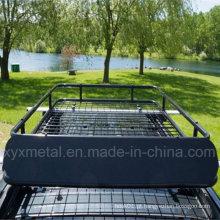 Universal Car Roof montado Basket Cargo Rack para SUV