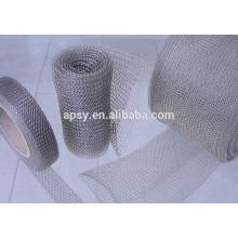Déflecteur antibuée en acier inoxydable / dévésiculeur en fil métallique / tampon antibuée
