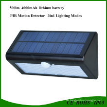 36 LED Super Helle Solar LED-Licht mit PIR Sensor für Parkhaus
