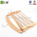 Wholesale A Grade Beech Wooden Scarf Hanger, Wood Hanger for Scarf