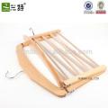 Оптовые продажи бука деревянная шарф вешалка, деревянная вешалка для шарфа