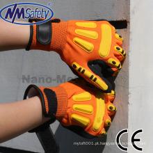 Luvas de mão anti-vibração de alta qualidade NMSAFETY