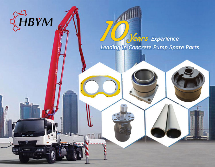 pm concrete pump parts