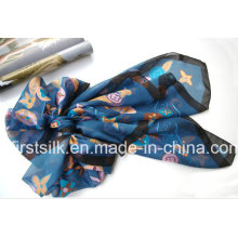 Digital Print Silk Scarf