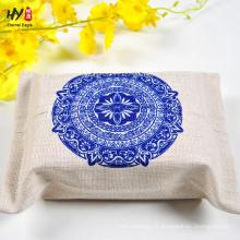 Caja de pañuelos de lino hermosa venta de calor