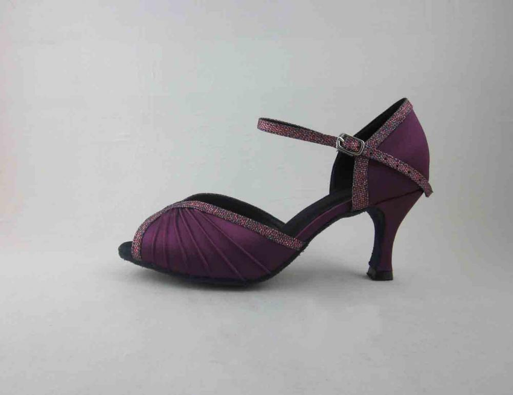 Purple Salsa Shoes For Girls