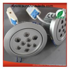 Luminosidad Higt / alta calidad / alta luminosidad LED Downlight
