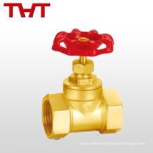 Thread brass stop valve