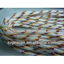 8мм полиэстер смешанные цвета плетеный Канат