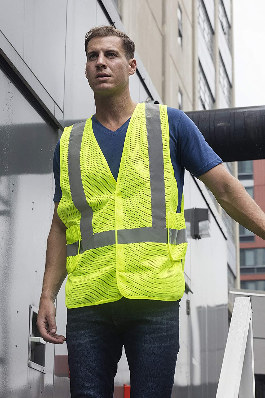 reflective mesh vest