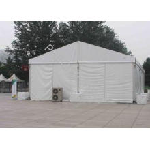 6m x 6m Small White PVC Fabric Outdoor Wedding Tent With Al