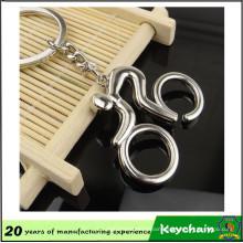 Custom Design Metal Bicycle Keyring