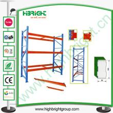 Sistema de estantería de paleta de almacén para trabajo pesado