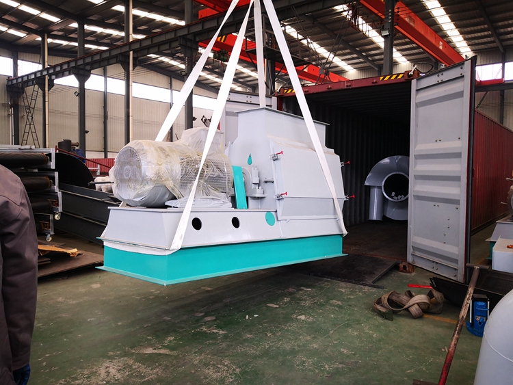 Delivery of biomass granulator