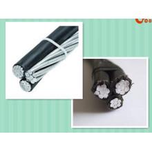 0.6 / 1kv Cable de aluminio del aislamiento de XLPE / cable del ABC