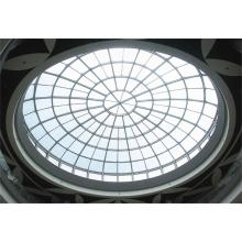 Stahl Bogen Truss Fenster Klar Glas Skylight