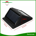 Solar Power 6 LED PIR Motion Sensor Light Outdoor Garden Wall Lamp for Waterproof Garden Lawn Lamps Landscape Yard Lights