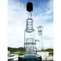 Neues Design 17 Zoll Höhe Reifen Perc Borosilikat Glas Wasser Rohr