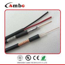 Cctv cable rg59 / rg6 con CCS / CCU / BC