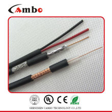 Câble cctv rg59 / rg6 avec CCS / CCU / BC